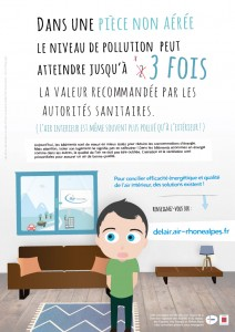 AFFICHE air interieur de l'air dans nos idees recues