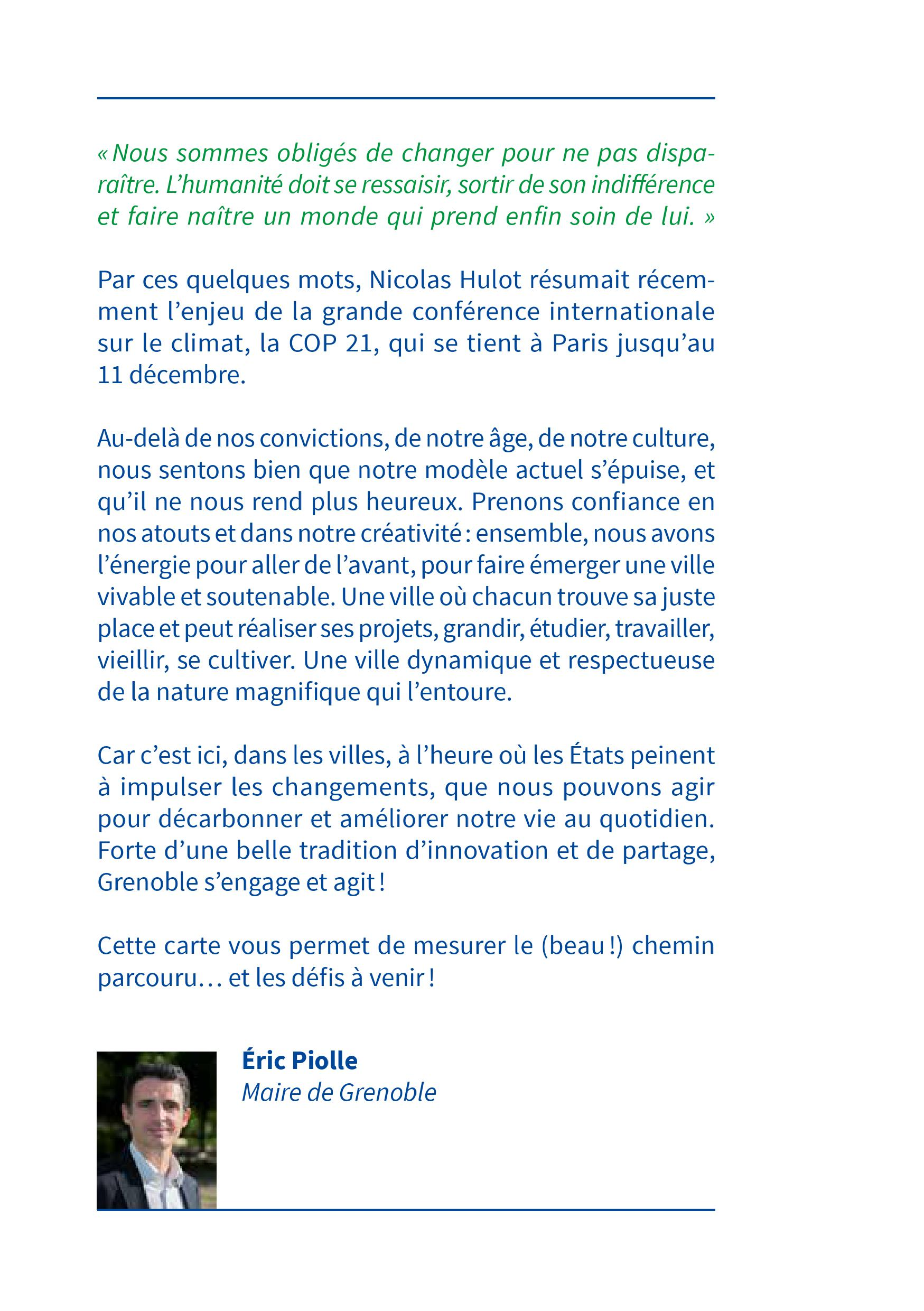Grenoble s'engage COP21.1